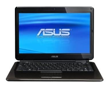 Laptop Asus K40in Second asus k40in b1 notebookcheck net external reviews