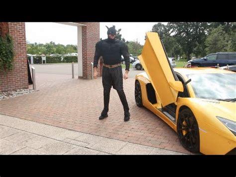 Mike Tyson Lamborghini Tyson Fury Turns Up In Lamborghini Bursts Into Press