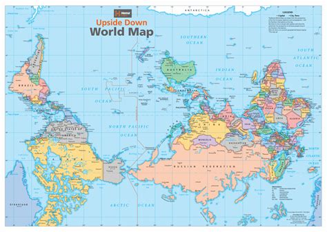australia on the map of the world map of the world roundtripticket me