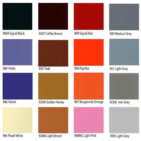warna dasar untuk membuat warna coklat macam macam pilihan warna cat duco naula jati furniture