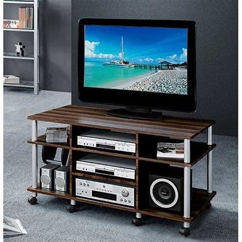 tv gestell rollen techni mobili kona rolling tv stand for tvs up to 42
