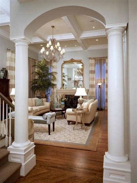 Pillars In Home Decorating | 35 modern interior design ideas incorporating columns into