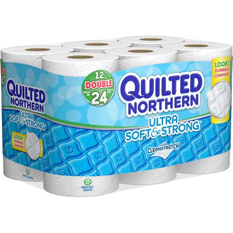 Who Makes Northern Toilet Paper - quilted northern ultra strong tissue