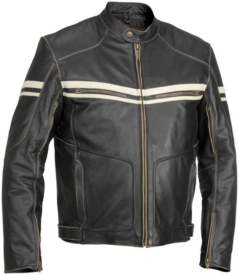 leather motorcycle jacket river road hoodlum mens leather motorcycle jacket