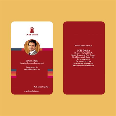 exclusive id card design employee id card croovs community of designers