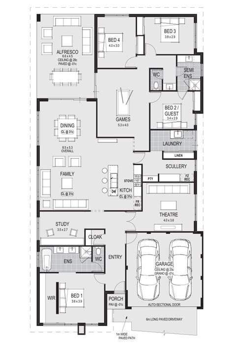 Laundry Scullery The Mediterranean Home Floor Plans