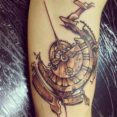 broken clock tattoo broken clock tattoos designs www pixshark images