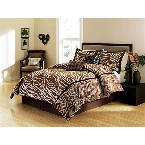 brown zebra print bedding images