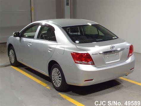 Toyota Allion 2012 Fuel Consumption 2012 Toyota Allion Silver For Sale Stock No 49589