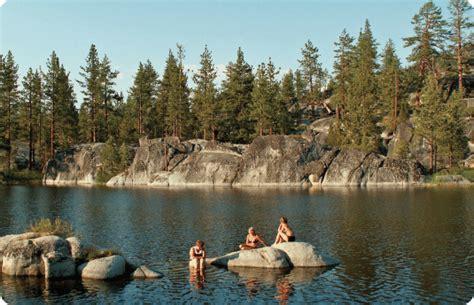 boating and swimming near me swimming at doris tule lakes mono hot springs