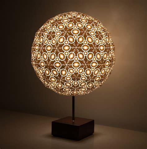 Lampshade Shapes by Robert Debbane S 3d Printed Lamps At New York Design Week