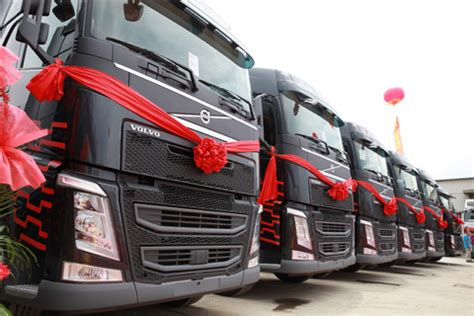 volvo trucks china sanxiao logistics chooses volvo trucks fh to update