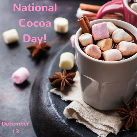cocoa day national cocoa day dec 13 mydentistsinfo