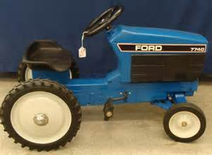 ertl ford pedal tractor