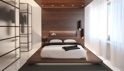 wooden wall designs  striking bedrooms