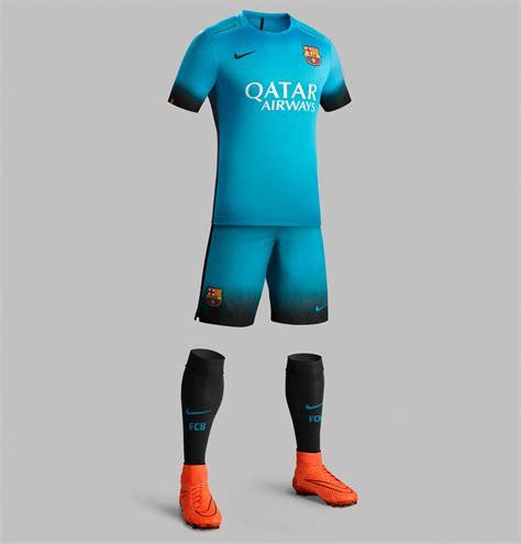 Barcelona 3rd 201516 Black Leaked fc barcelona 15 16 third kit released footy headlines