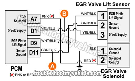1996 1998 egr valve lift sensor circuit diagram 1 6l civic