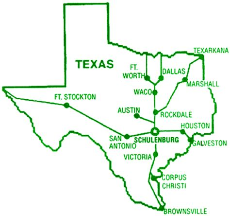 texas painted churches map welcome to schulenburg rv park home of the painted churches
