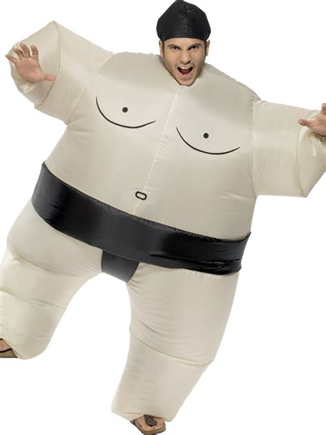 adult bounce house adult inflatable sumo wrestler costume 34501 fancy dress ball