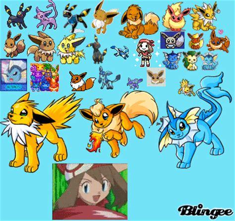 eevee evolutions picture #97566034 | blingee.com