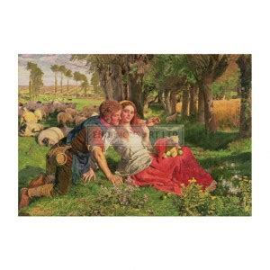 by william holman hunt the hireling shepherd holman hunt william archives enormous art