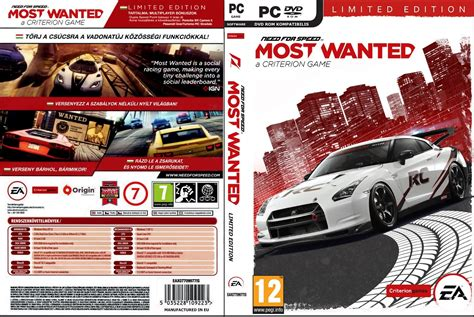 Pc Need For Speed Most Wanted need for speed most wanted 2012 pc espa 241 ol identi