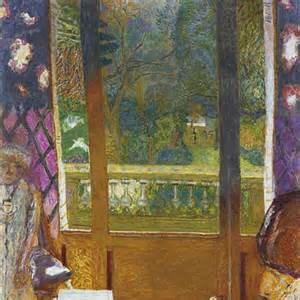 bonnard dining room overlooking the garden the
