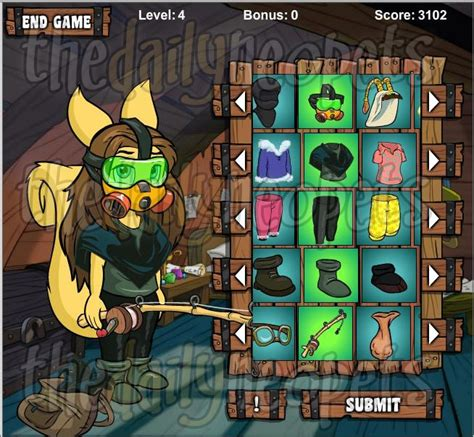 Neopets Wardrobe and the wardrobe of adventure the daily neopets