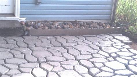 easy diy patio with quikrete walkmaker sells the