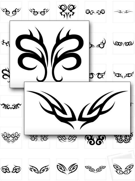 tribal tattoo zum aufkleben airbrush schablonen zum ausdrucken airbrush schablonen tattoo