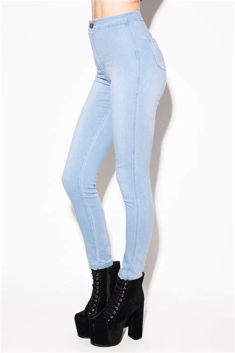 Highwaist Lightblue light blue high waisted high waist denim memes
