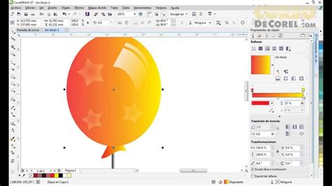 corel draw x7 not showing thumbnails dise 241 a en corel draw x7 unos globos transparentes youtube