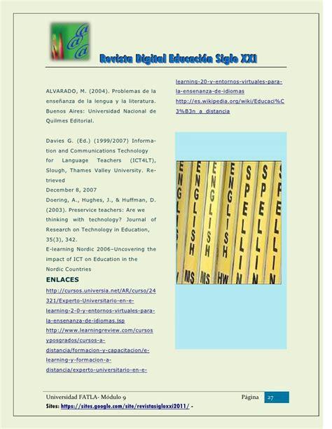 revista digital i e investigaci n y educaci n revista digital educaci 243 n siglo xxi