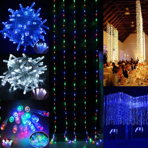30m 100m 200m led fairy string light outdoor wedding party