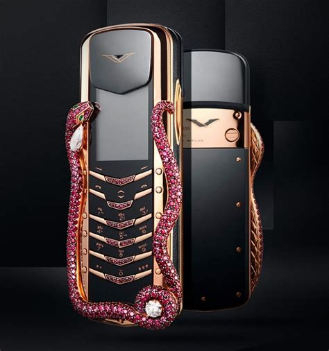 vertu phone vertu launches signature cobra phone worth 360k