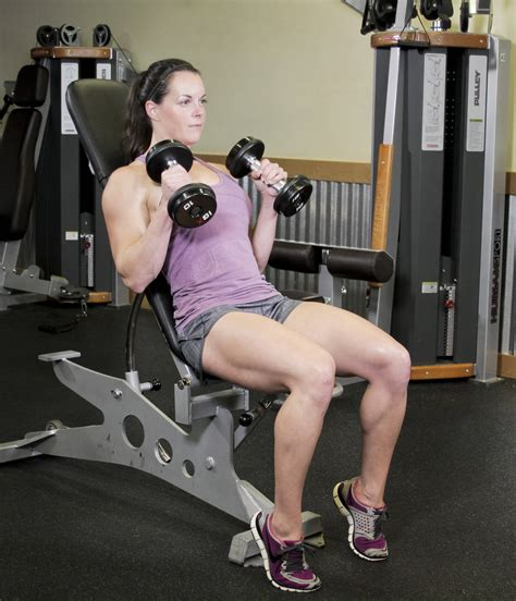curl incline incline hammer curls exercise guide and