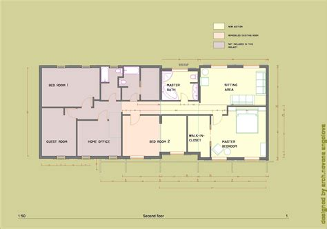 home addition blueprints floor plans designed by nevena angelova home addition