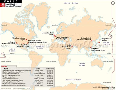 map world airports busiest airports in the world by passenger traffic world