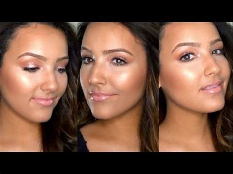 how to: dewy, glowing skin (foundation routine) youtube