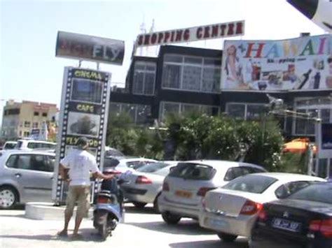 el kantoui tunisia quot hawai quot shopping center at el kantoui