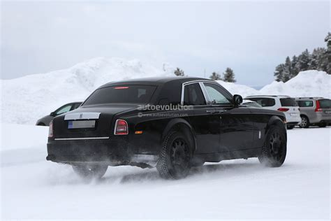 suv rolls royce rolls royce suv spied in sweden it s shorter than a