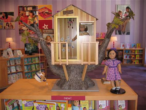 american girl doll tree house my little cottage in the making american girl dolls