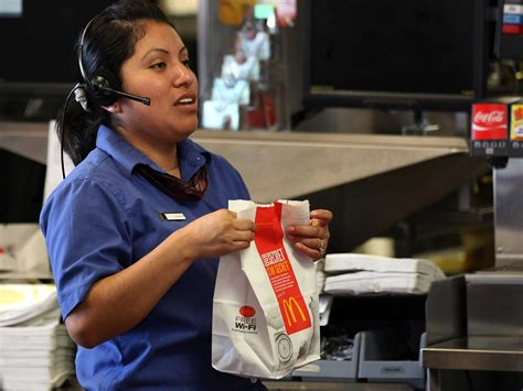 how much fast food pay business insider