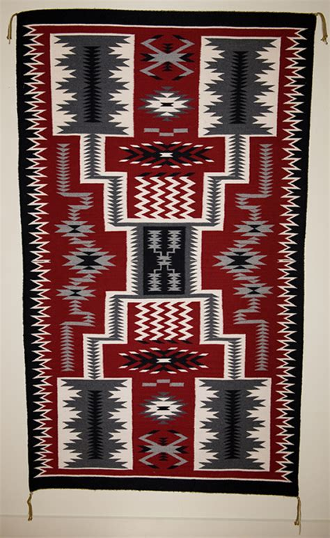 Navajo Rug Design by Begay Pattern Navajo Rug