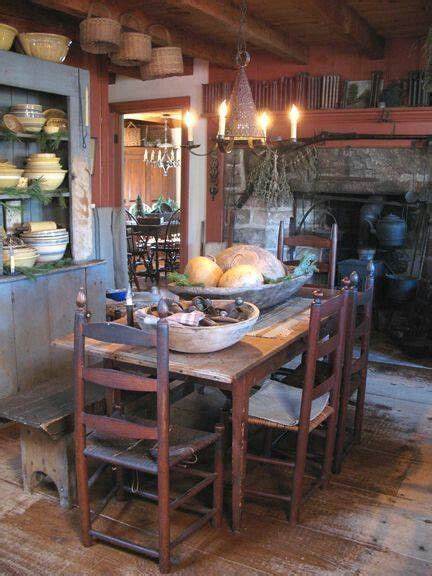 primitives primitive dining rooms and colonial on pinterest