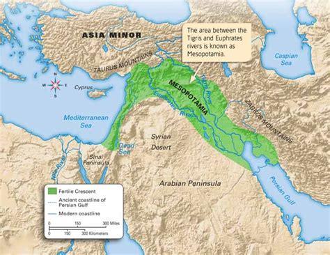 middle east map fertile crescent mesopotamia mesopotamia in the fertile crescent the