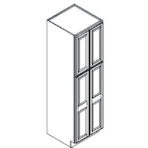kitchen cabinets assembly required richmond bordeaux kitchen pantry cabinet 24 quot w x 24 quot d x
