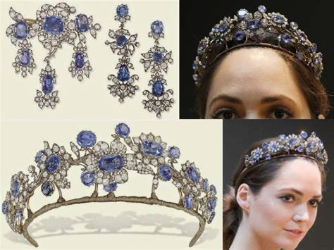 Diana Princess Of Wales Rose The 10 Most Amazing Royal Sapphire Tiaras Of All Time