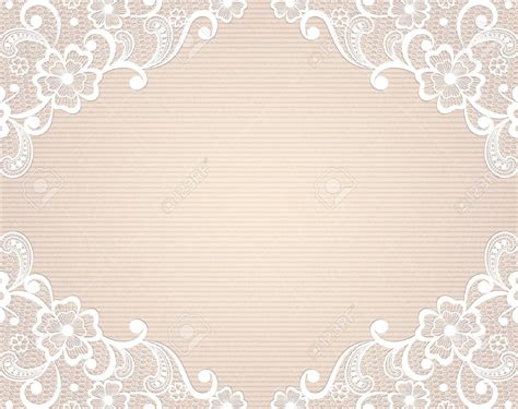Vintage Photo Card Template by 24697426 Template Frame Design For Card Vintage Lace Doily