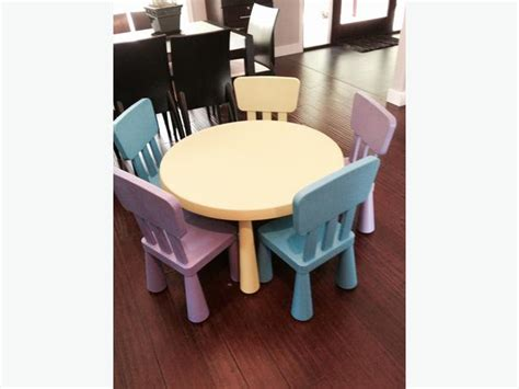 Table And Chairs Mammut by Mammut Table And 5 Chairs Malahat Including